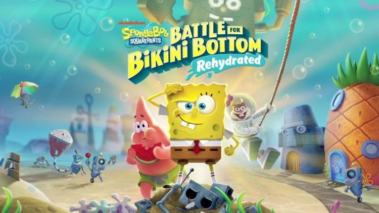 《海绵宝宝 为比基尼海滩而战 补水》IGN 评测 5 分:缺乏革新的重制