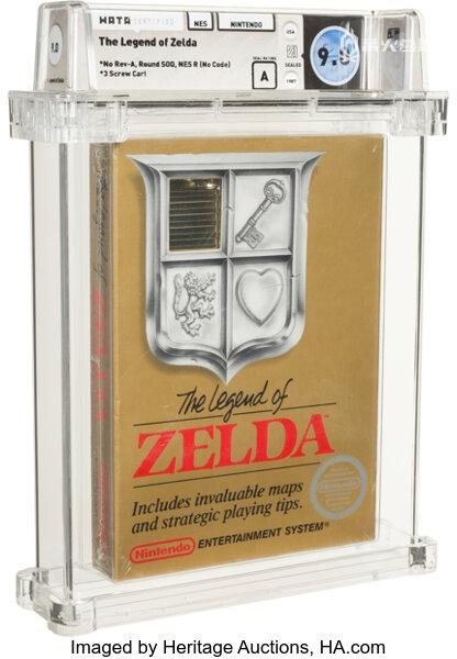 《塞尔达传说》未开封卡带拍卖出 87 万美元高价