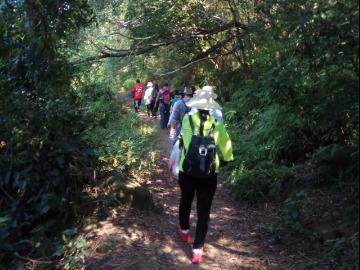 3-17号周日爬凤凰山穿越小竹林