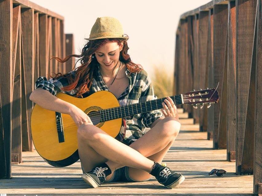 周末一起来学吉他吧