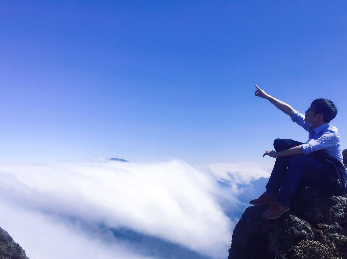 红岩顶云瀑,云海摄影之旅