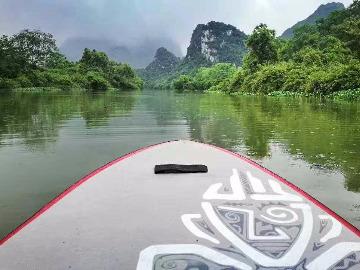 楠溪江露营――SUP桨板体验