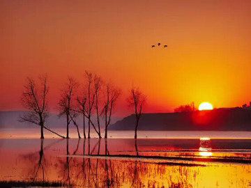 元旦超念湖