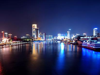 夜跑三江口