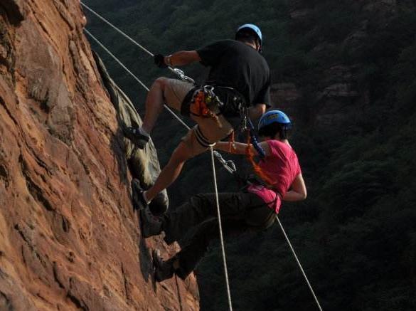 峡谷探险|探秘未知峡谷,挑战另一个自我