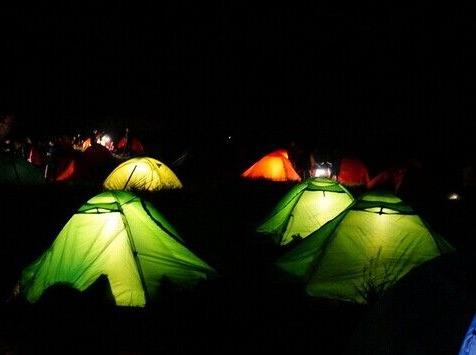 五一露营后河腐败露营,野外豪华大天幕嗨玩