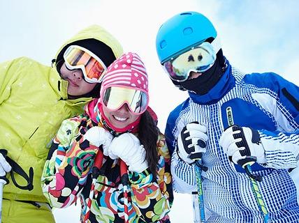 元旦云佛全天滑雪