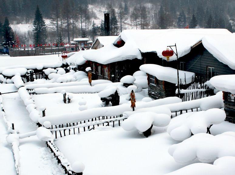 赴一场冰雪之约,走进童话世界-中国雪乡