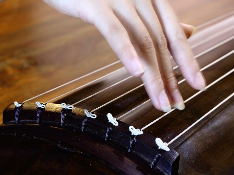 古琴零基础体验,琴音悠悠扣心弦!