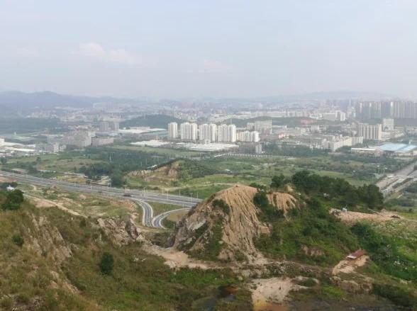 12月22日将军山和白石山 山路徒步