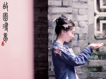中式府邸经典古风人像摄影活动