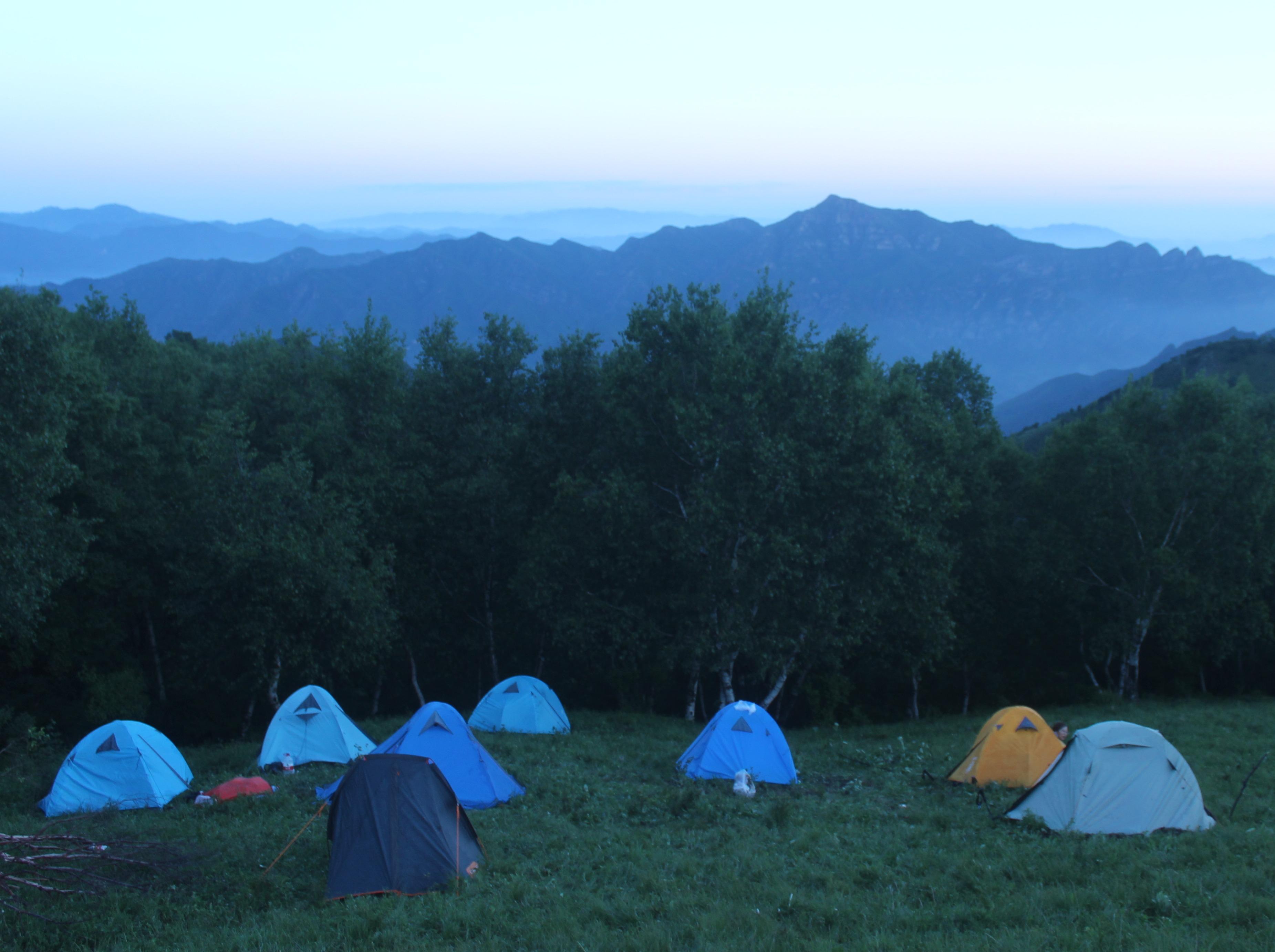 五一灵山露营,三天两晚,浪起来