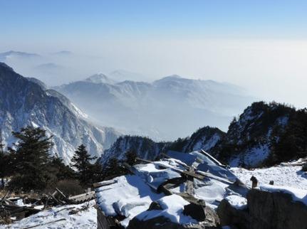 元旦 九峰山徒步耍雪一日游 12月30日