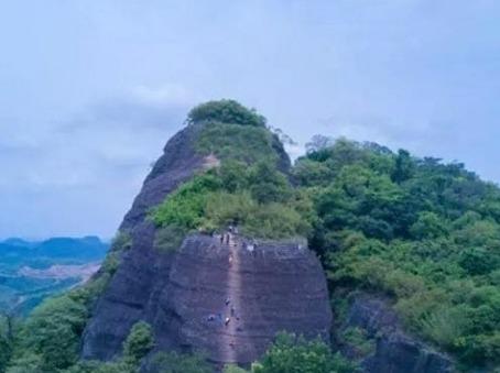 相约惠州马鞍山徒步/攀岩瘦身一线天奇景