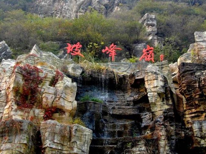 10月21日黄栌花开时,红叶坡峰岭!