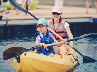 亲子皮划艇—小海盗探秘之旅