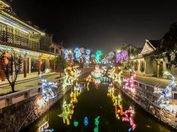 周末游 翡翠岛+滦州古城夜景