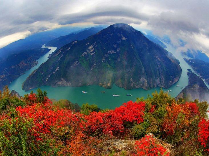 巫山赏红叶、徒步神女峰