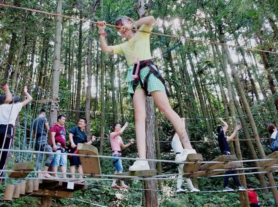 【周八】石龙谷,趣味旱滑、丛林飞跃一日游
