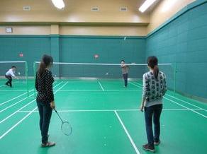 羽毛球赛交友活动