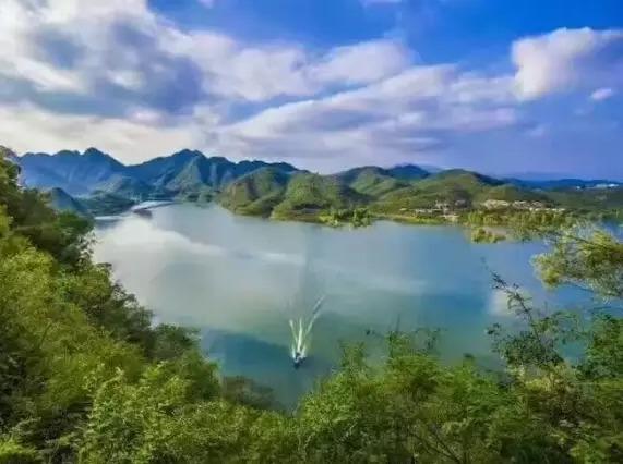 【橘子部落】清明天天发-易水湖-太行水镇