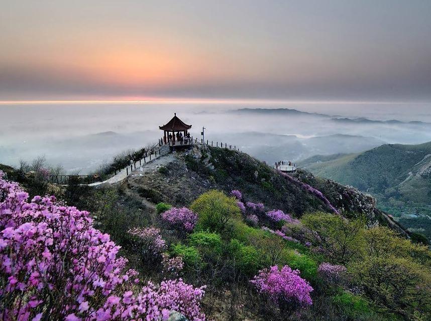 【坐宝马,去爬山】春季大黑山休闲一日游