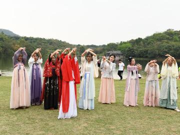 上巳节相约西溪古村交流摄影娱乐免费学舞蹈