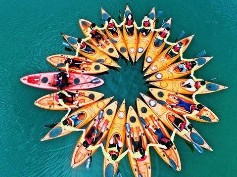 3.24【皮划艇初体验】每周日皮划艇1天