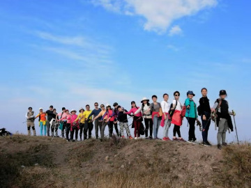 12.10徒步湘军古道穿越湘潭最高峰