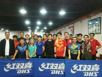 青浦贝斯特乒乓2017年终活动