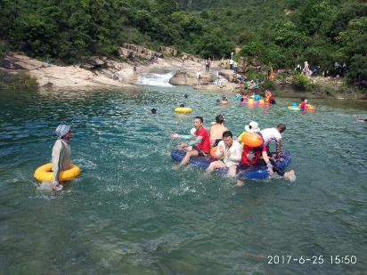7月16日 星期天 台山十字河泡水 野炊