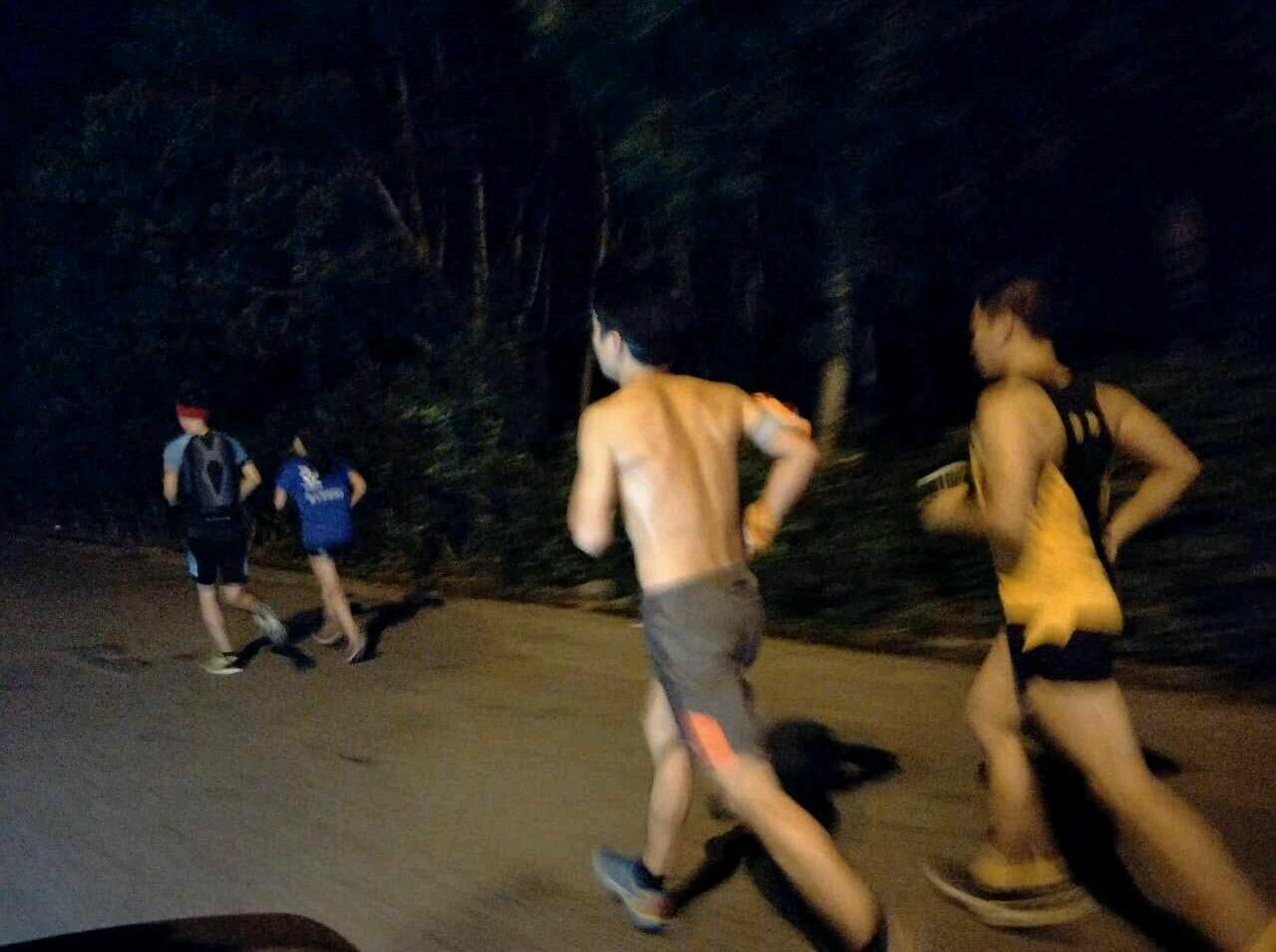 【夏】椒江夜跑团市民广场5公里跑8-10