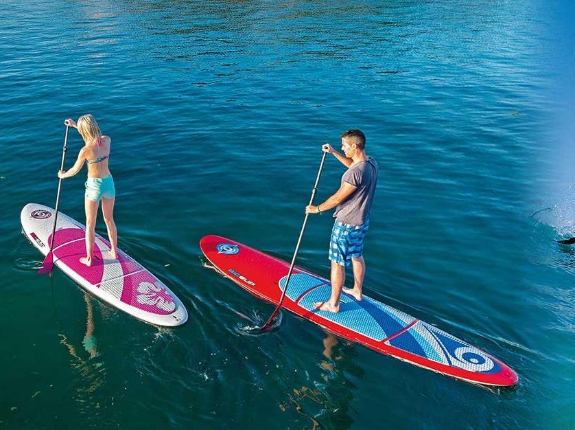 夏日的炫酷SUP桨板活动,新技能玩新体验