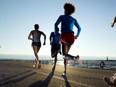 在朝阳,一起五公里跑步
