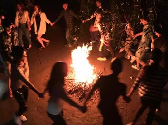 十一小长假の荒岛探索BBQ野营篝火狂欢