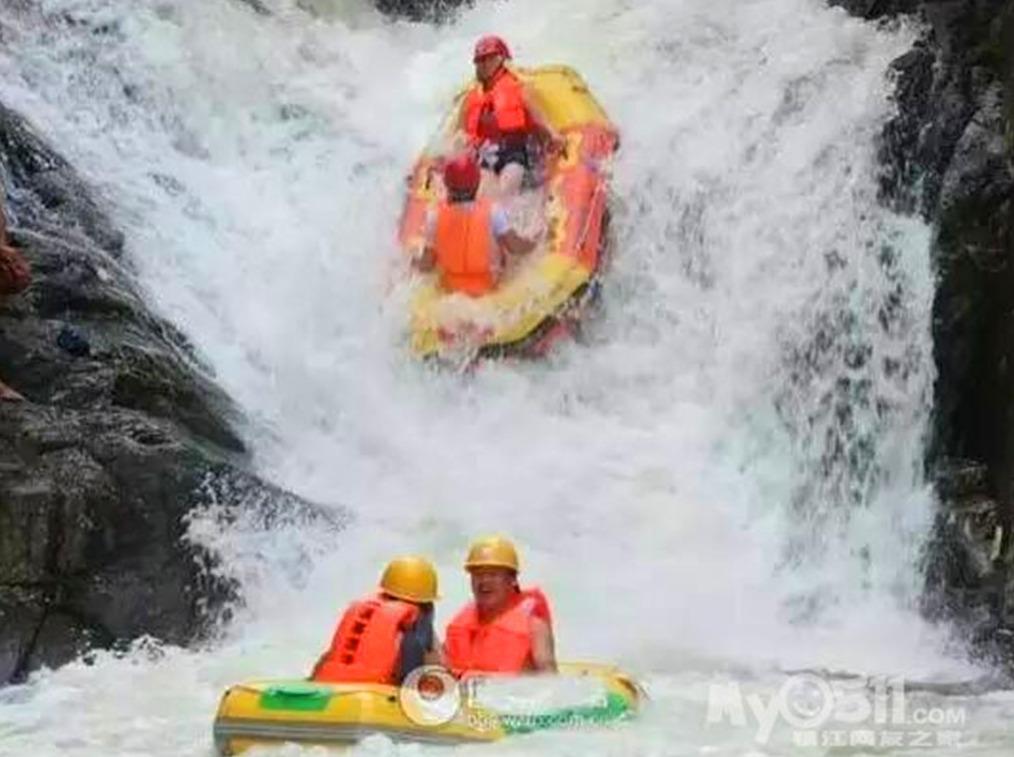 7月168元霍山大峡谷激情漂流一日游