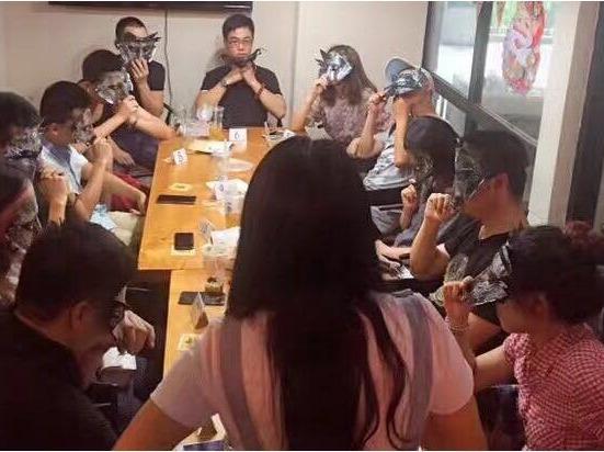 阳江狼人杀游戏桌游聚会