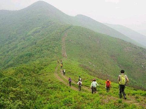 5月25号徒步九连尖,游玩赤山湖