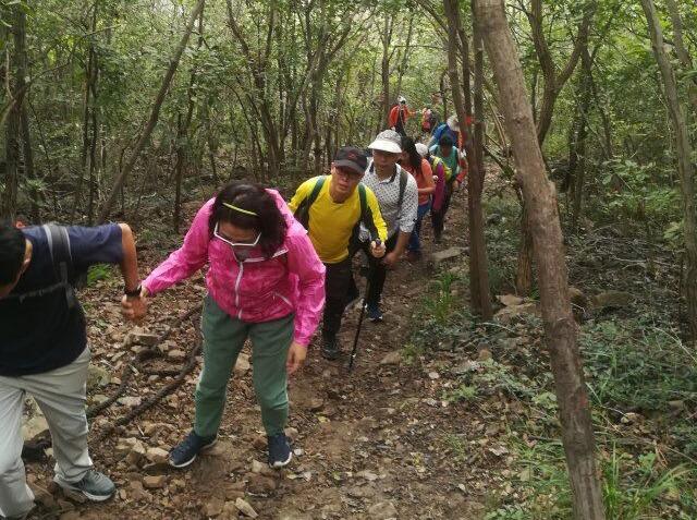9月28徒步行走高骊山,体验山脊野路