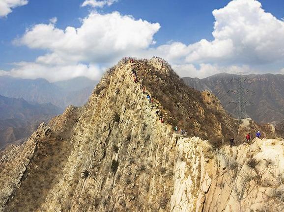 5.2京郊狗牙山刀刃上的徒步登山活动