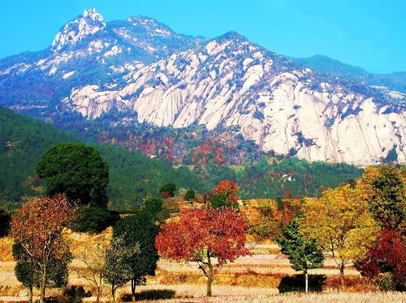 红叶舞英山 赏秋正当时