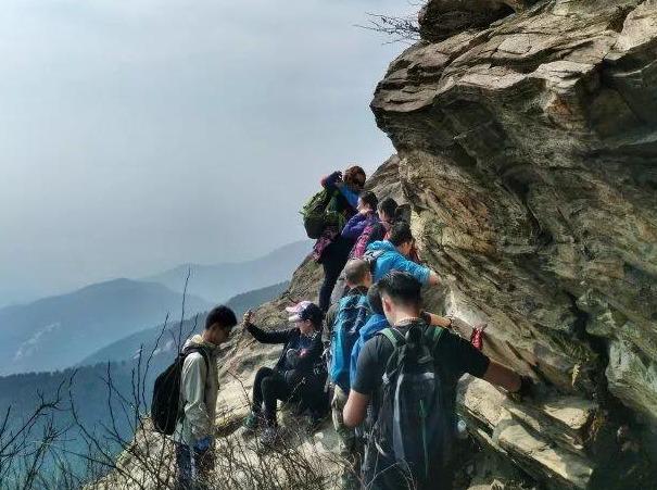 12.14木兰山户外登山攀登一日游