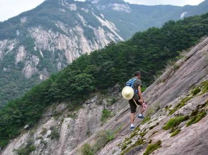 11月10日 千仞山220米攀岩一日游