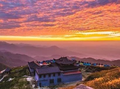10月3-6日徒步行摄武功山看日出云海