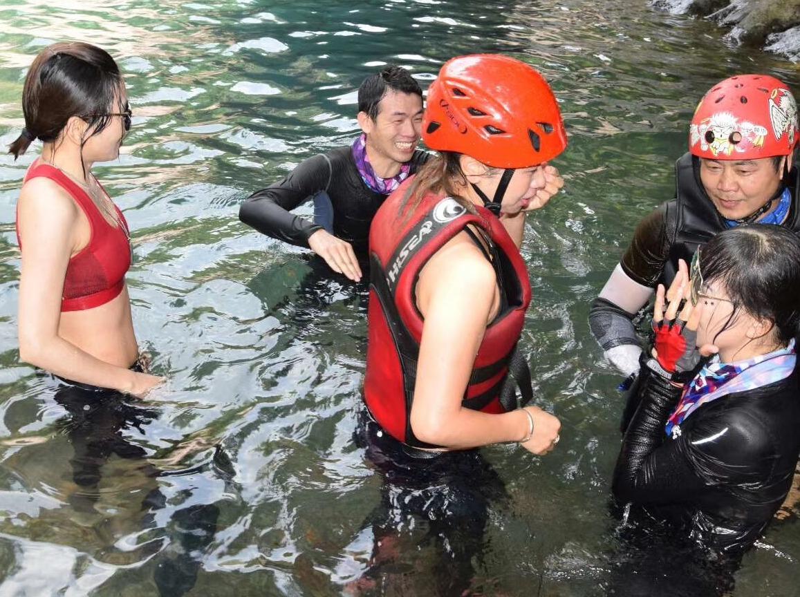 仙游眉溪瀑降玩水穿越