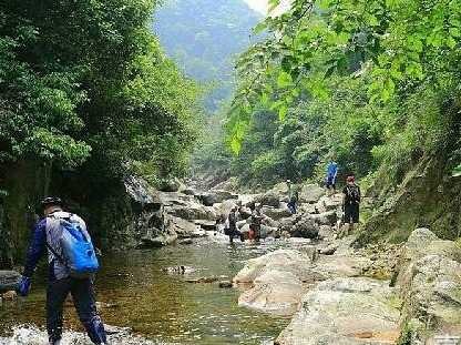 8.18-19相约临安乌头山峡谷避暑溯溪