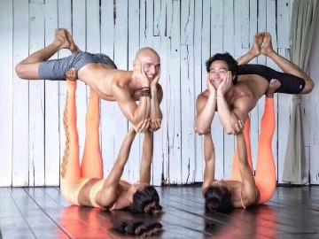 公益肩颈理疗瑜伽课