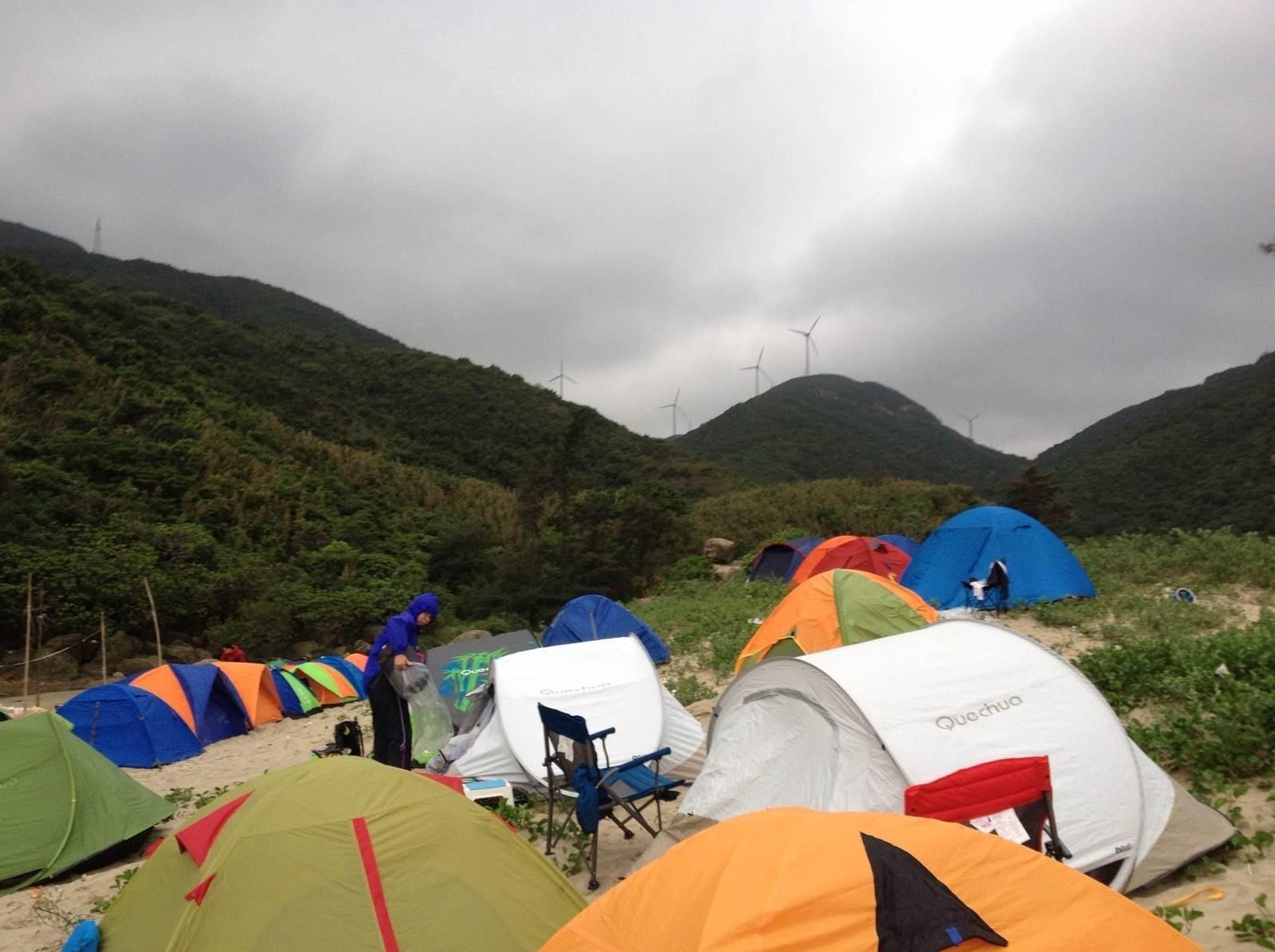 珠海小三浪露营