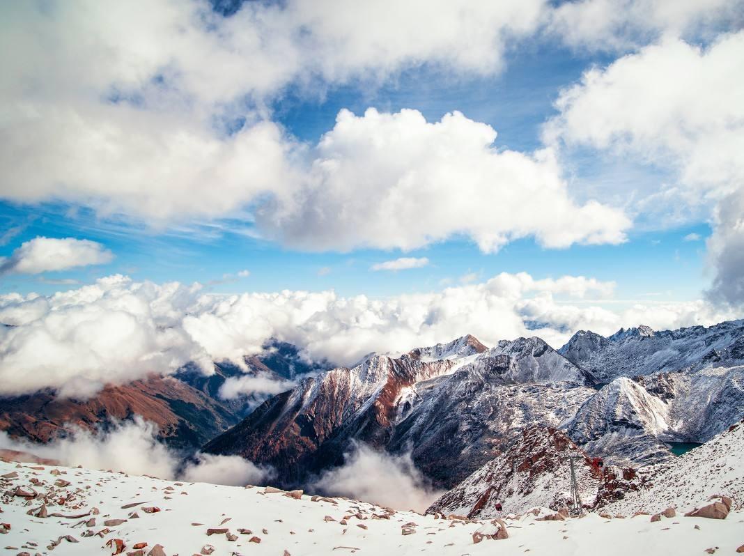 达古冰川两日游,川西最美的高原冰川