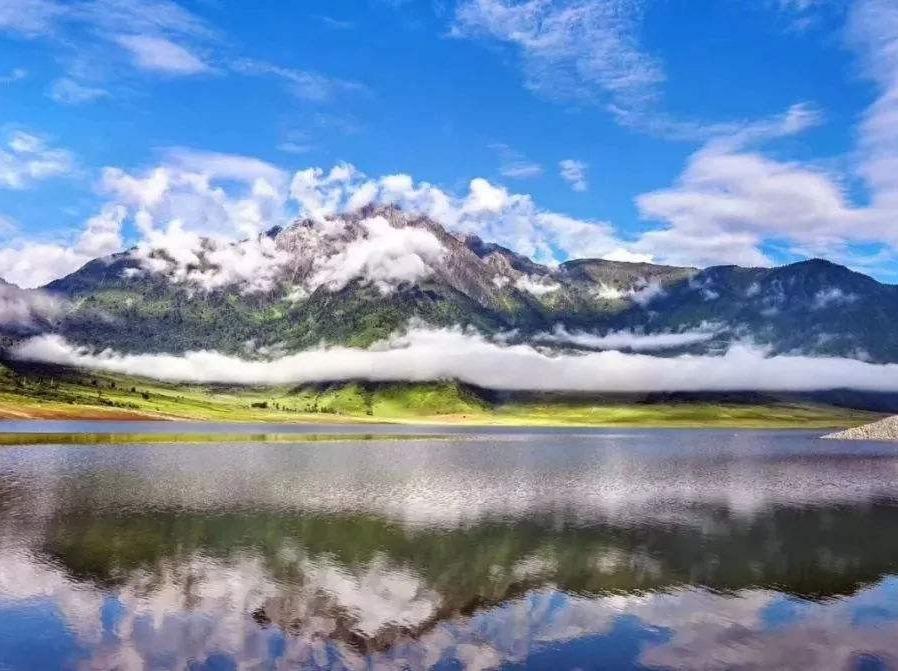 周末冕宁冶勒湖徒步,与您相约最美的秘境